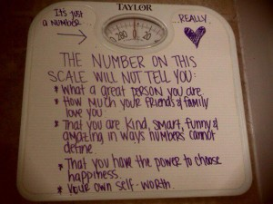 Scale, self worth, loving yourself, eating disorder help and recovery