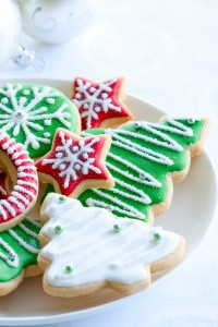 Christmas cookies, holiday diet tips, healthy eating over the holidays