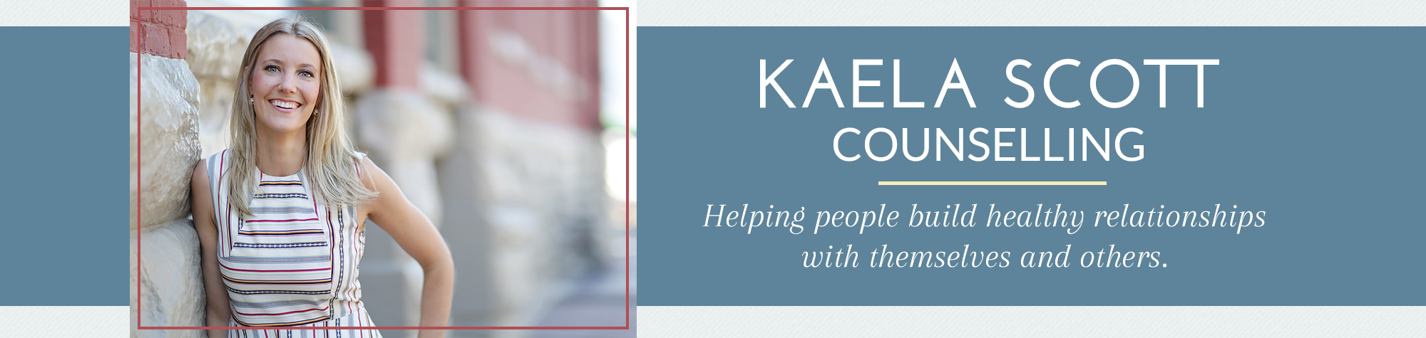 Kaela Scott Counselling header image